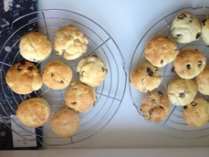 Delicious, warm scones - a must-have for afternoon tea!