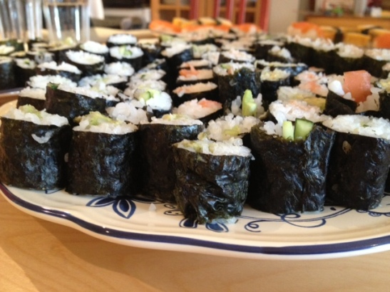 Make-Your-Own Sushi and Maki