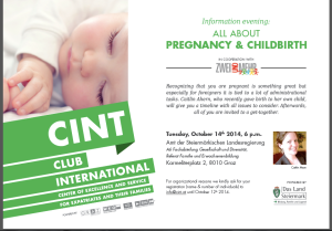 Invitation to CINT's event